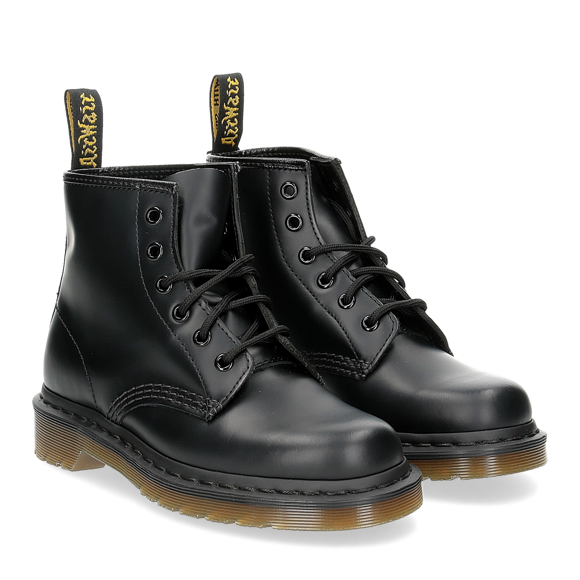 Dr. Martens Anfibi donna 101 black smooth