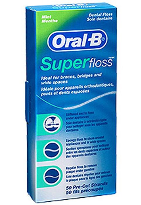 ORAL-B SUPERFLOSS FILO INTERDENTALE