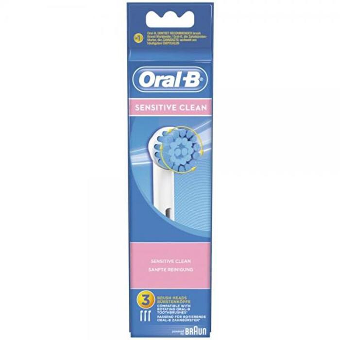 ORAL-B SENSITIVE CLEAN TESTINE RICAMBIO