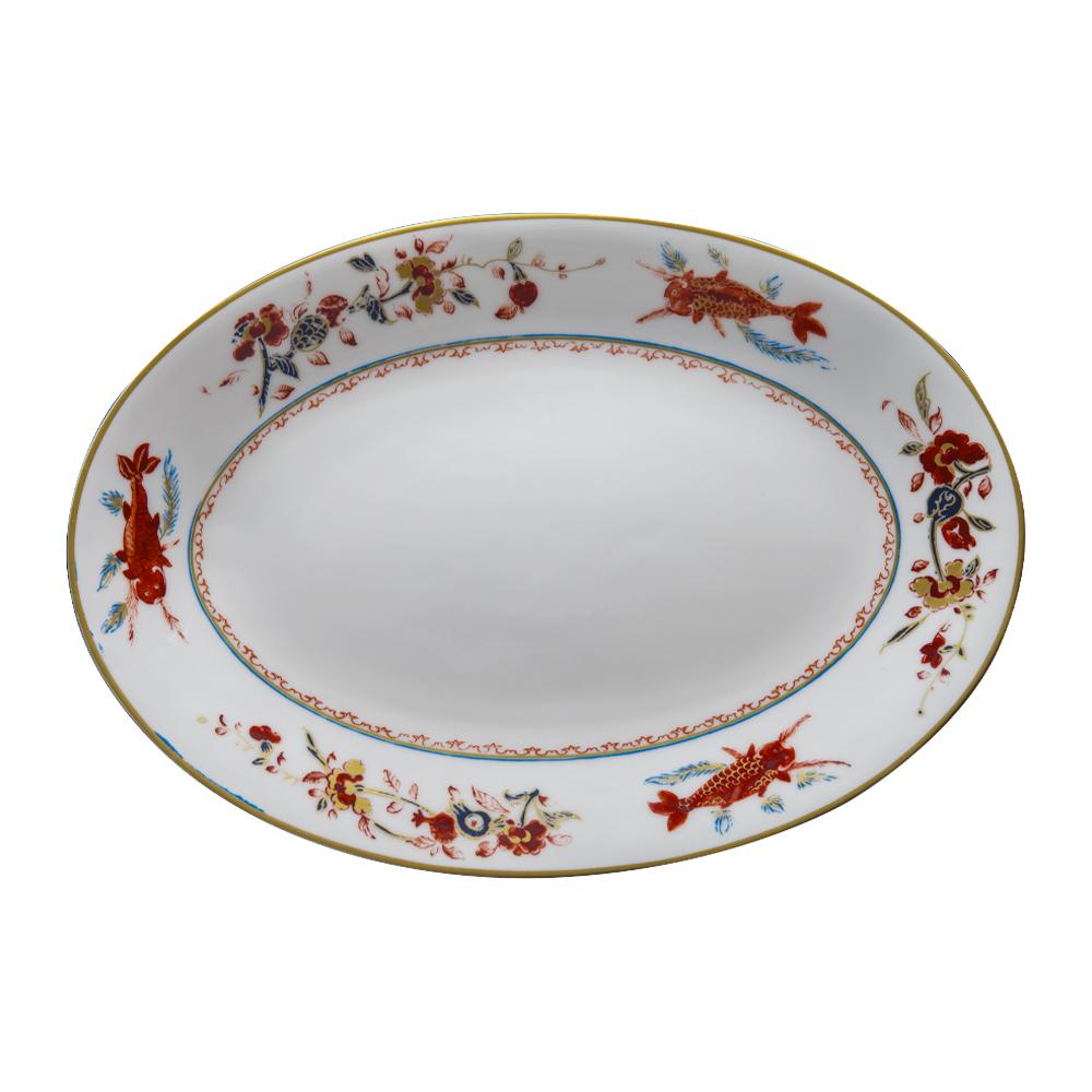 Piatto ovale cm 32 | Chinesi Fiori Finiti