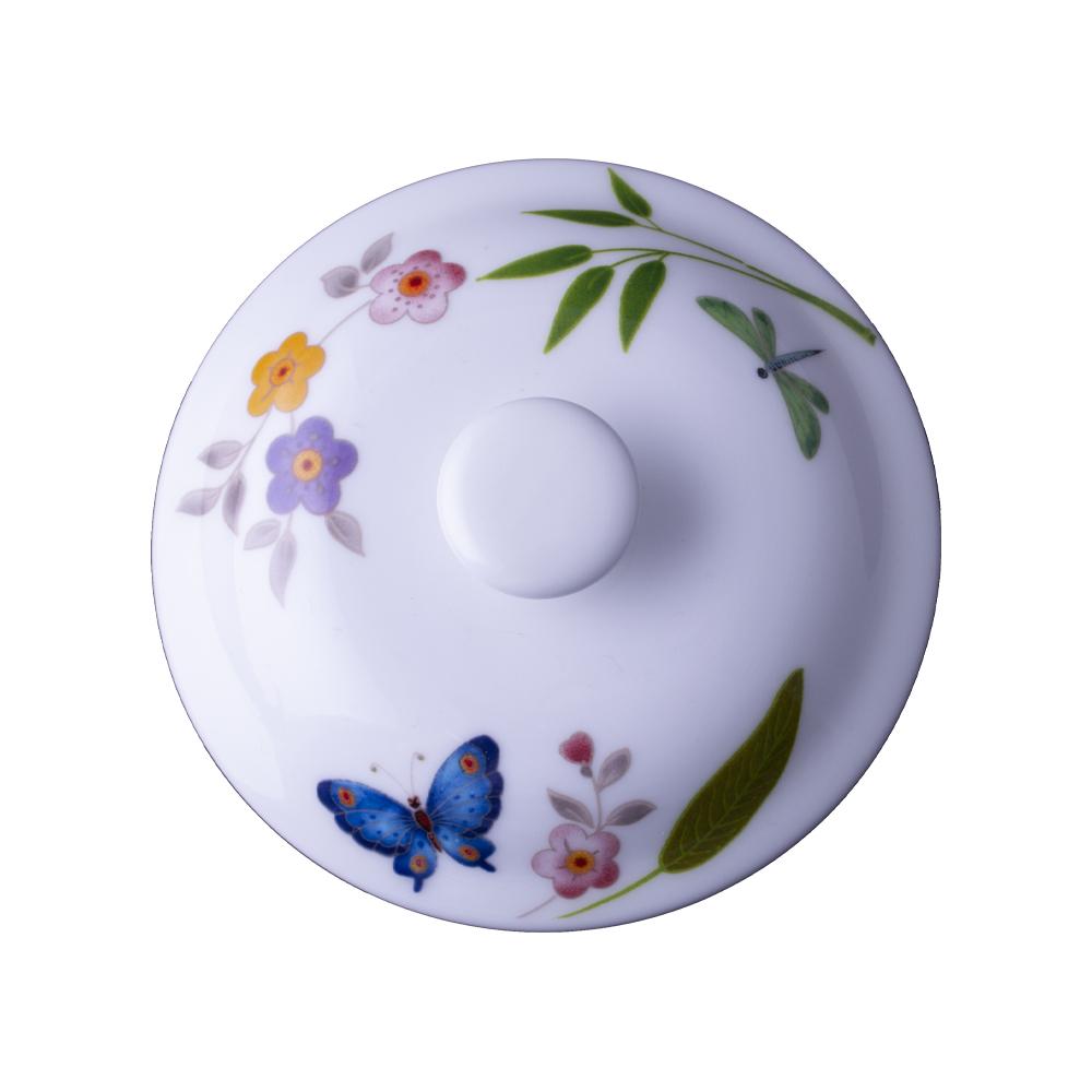 Coperchio per tazza cappuccino e thè cm 10   Incanto di Primavera