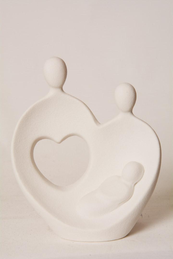 Sacra Famiglia in Gres Porcellanato cm 15