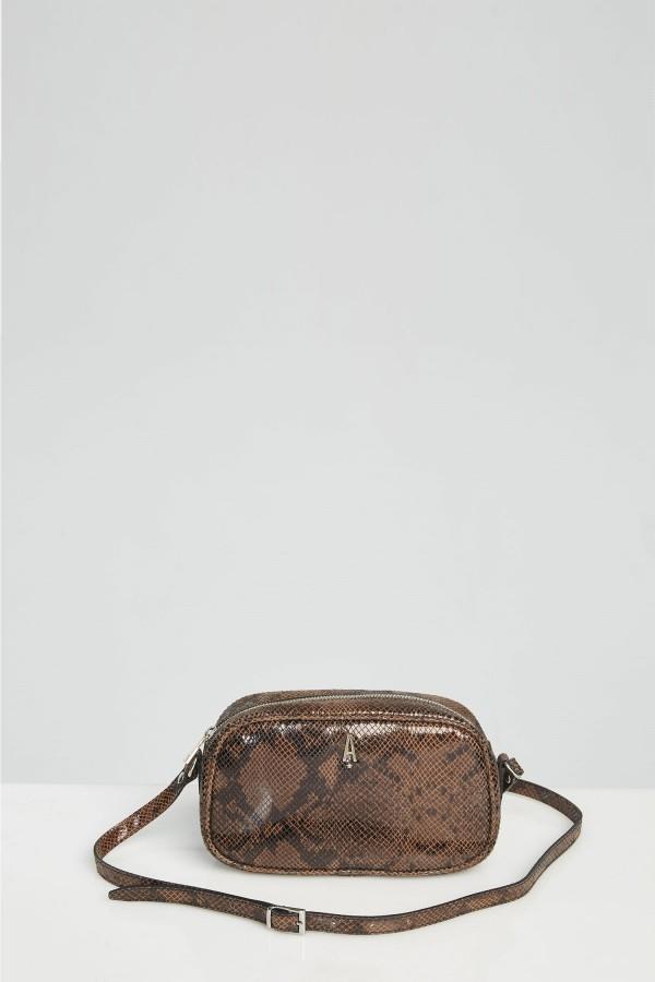 Tracolla Lalla bag marrone Aniye By