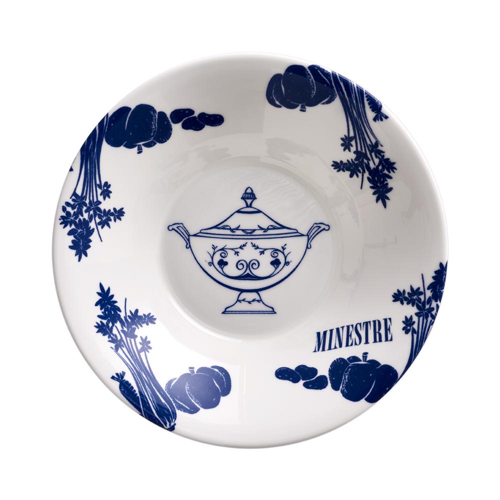 Piatto fondo - Minestre cm 22 | Vintage | La Cucina Italiana