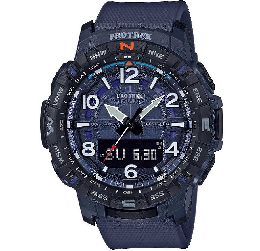 Casio PRO TREK, Bluetooth®, blu