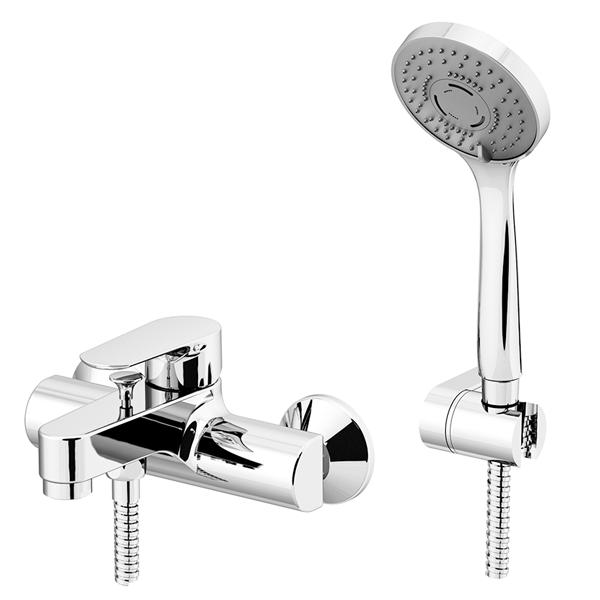 Mix esterno vasca GATTONI con duplex doccia art. 3000