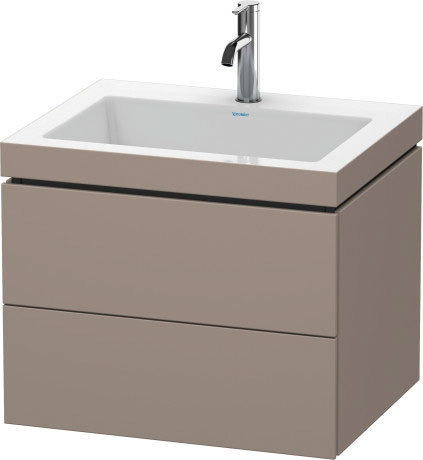 Mobile L-Cube Lavabo consolle c-bonded Cod. Art. LC6926 N/O/T