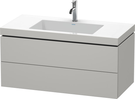 Mobile L-Cube Lavabo consolle c-bonded Cod. Art. LC6928 N/O/T