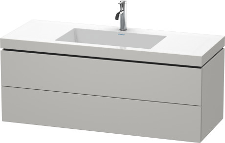 Mobile L-Cube Lavabo consolle c-bonded  Cod. Art. LC6929 N/O/T