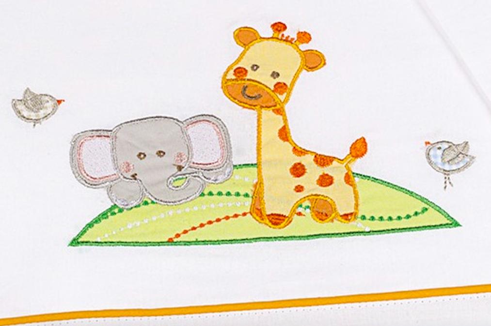 Set lenzuola letto linea Gina by Italbaby | Cotone 100%