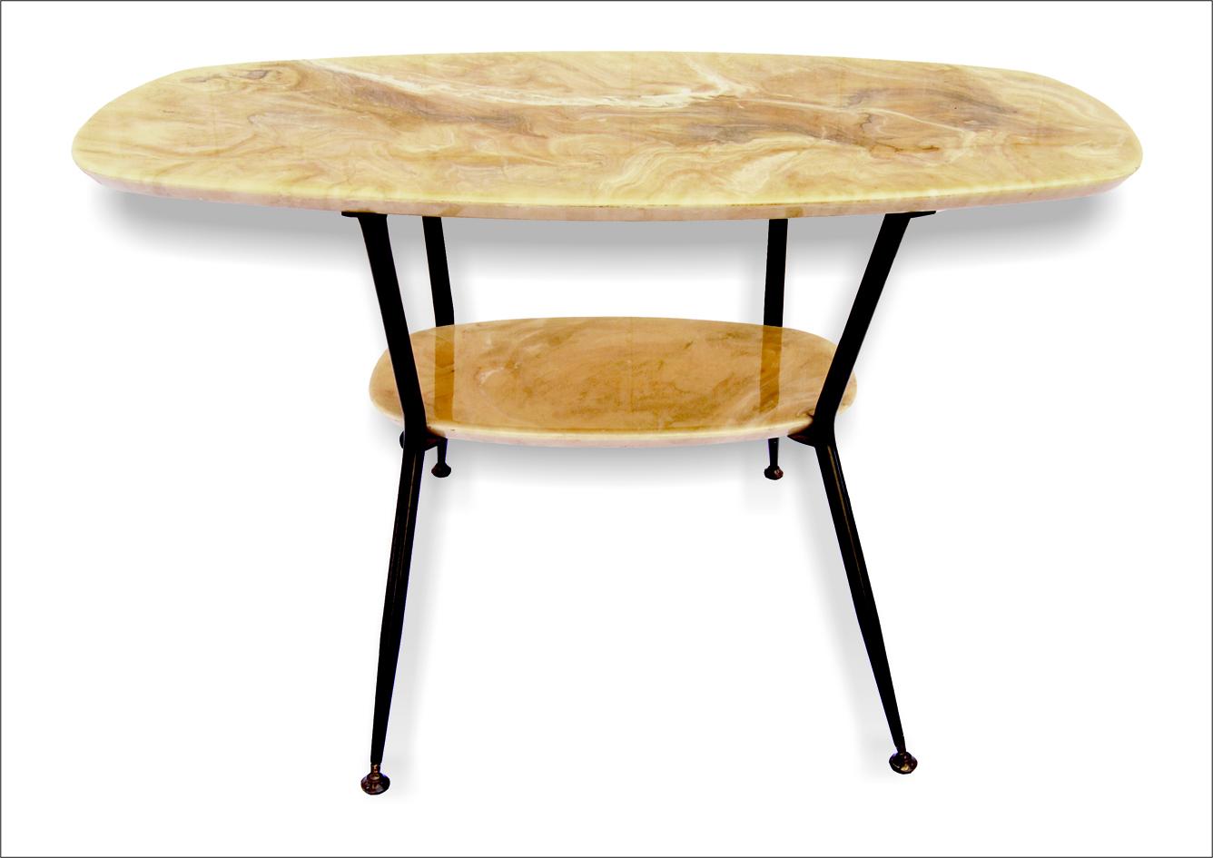 Tavolino vintage da caffè anni '60