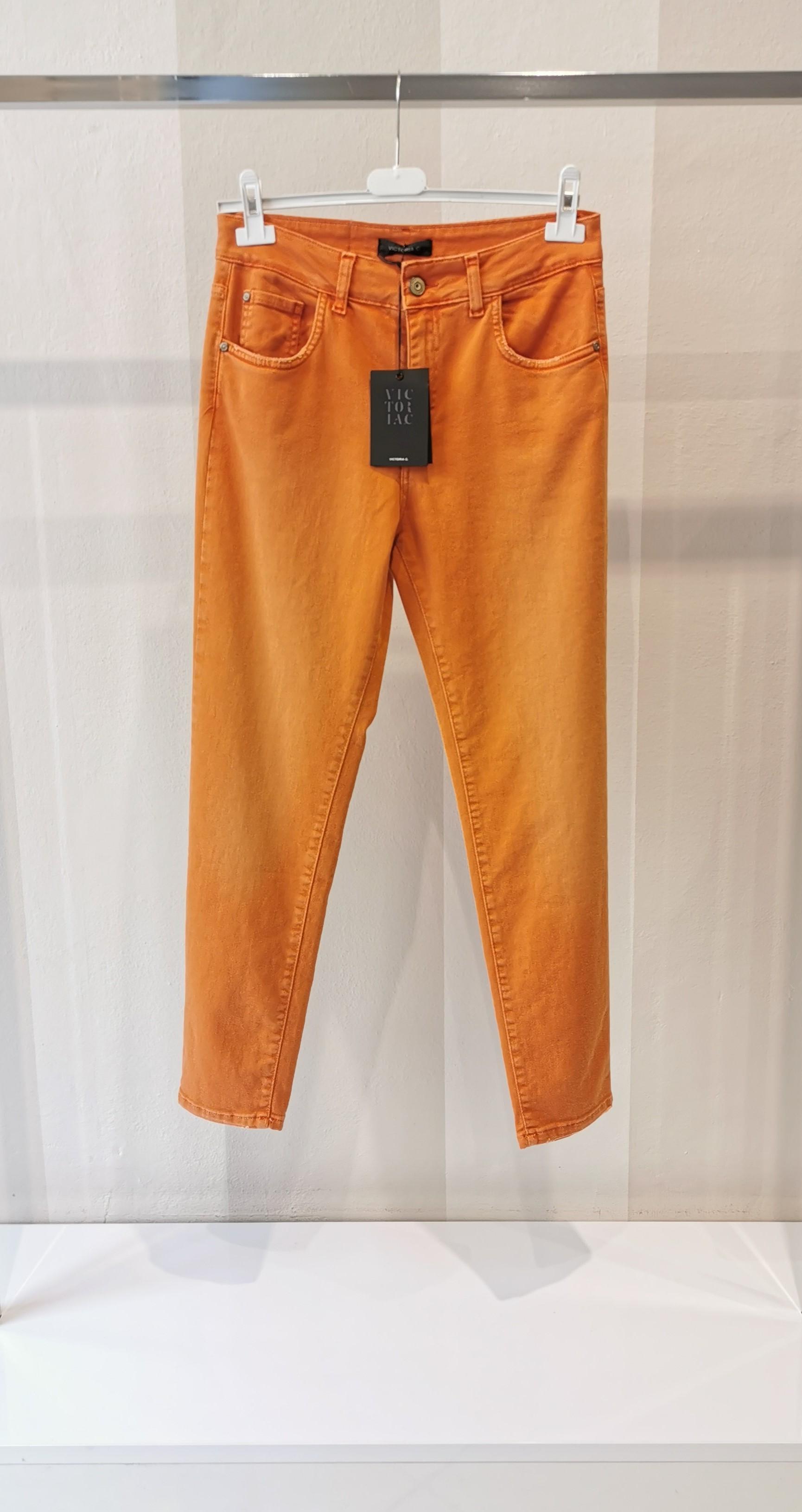 Jeans arancio