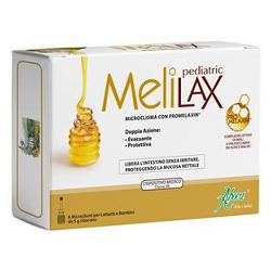 Melilax pediatric Aboca 6 Microclismi