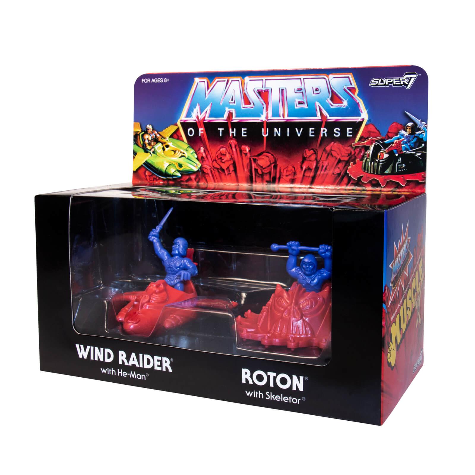 Masters of the Universe m.u.s.c.l.e. Box Purple/Orange Exclusive