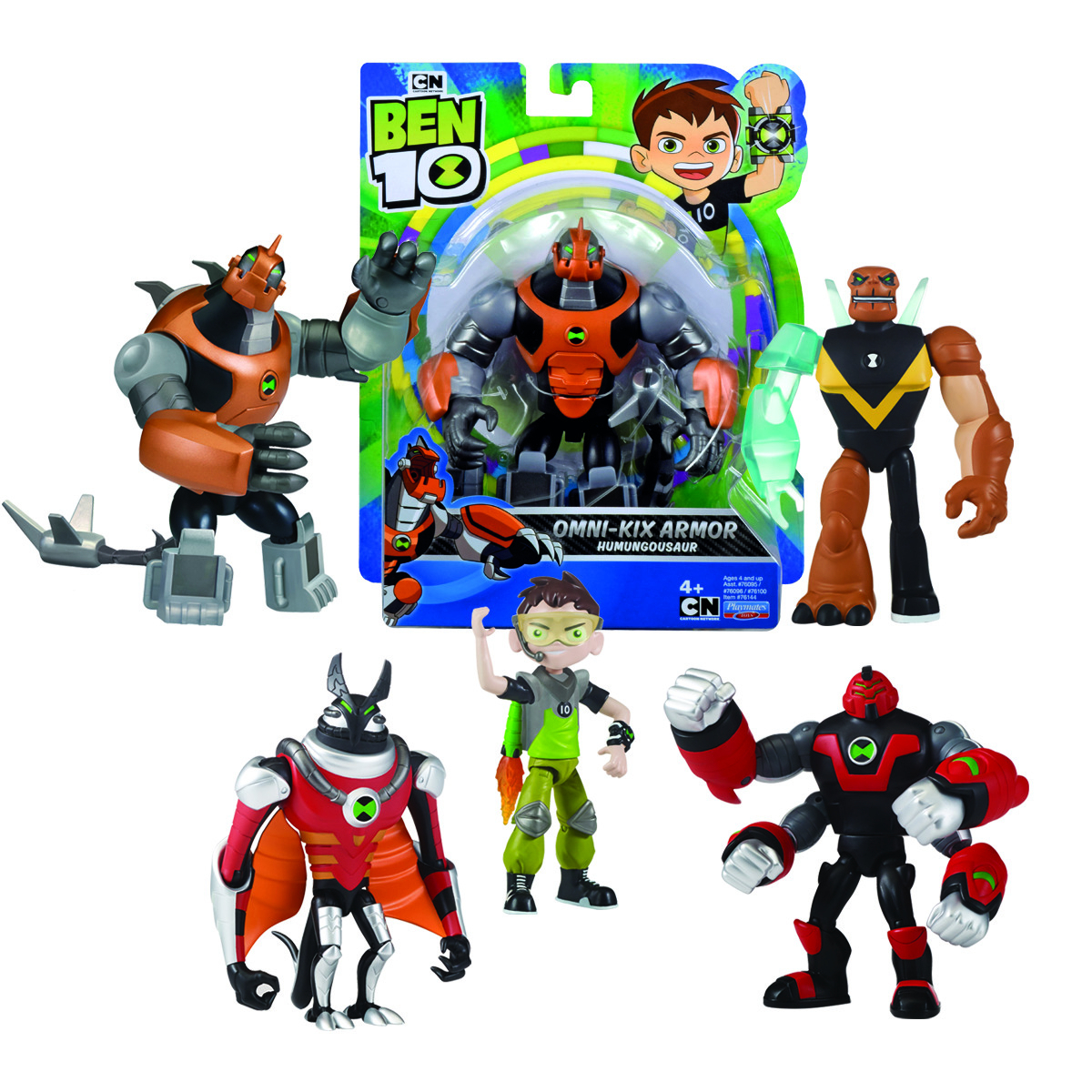 BEN10 PERSONAGGI BASE ASSORTITI