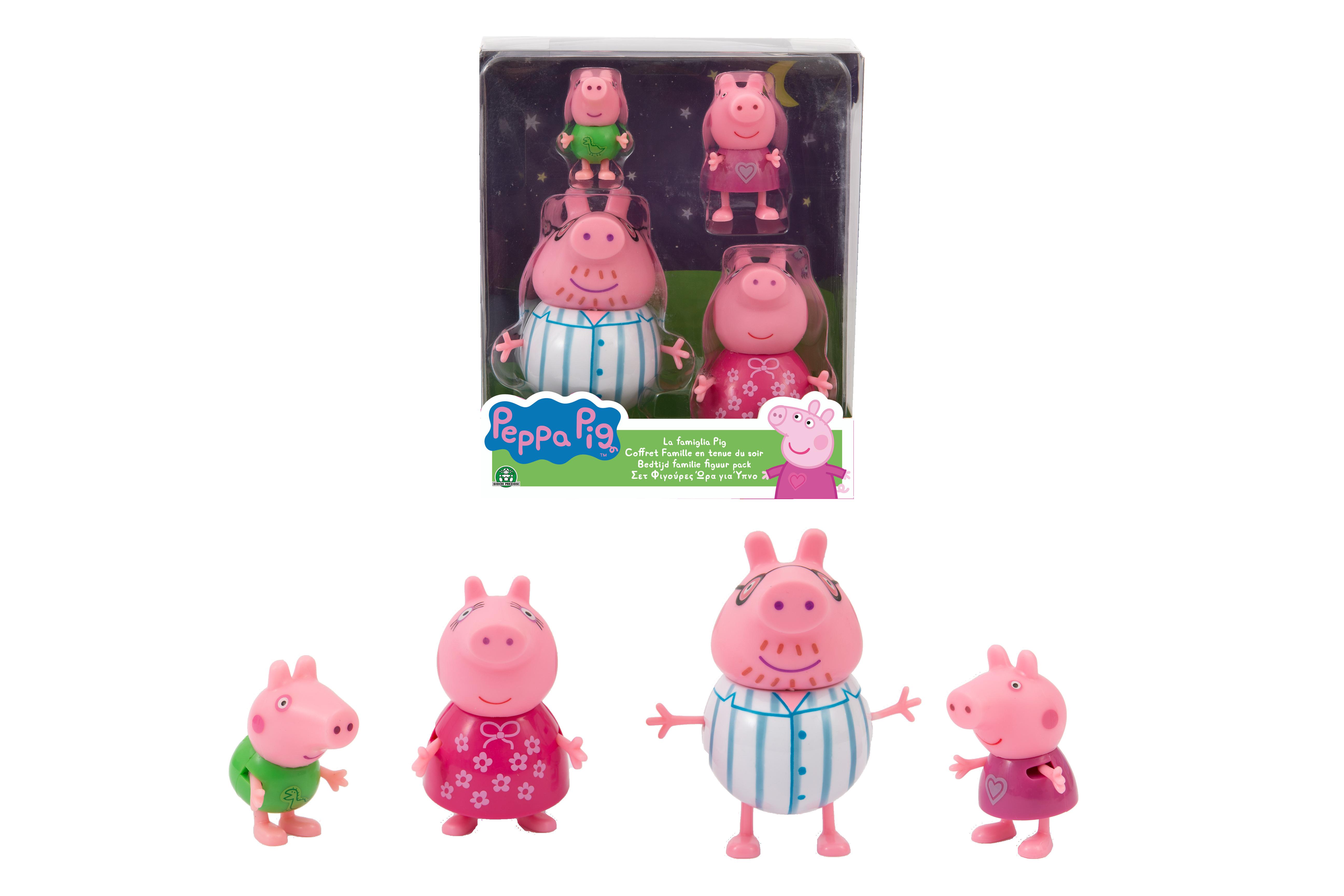 PEPPA PIG SET FAMIGLIA NOTTE