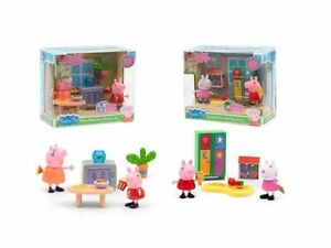 PEPPA PIG MINI PLAYSET STANZE ARREDO ASS. 2MOD WAVE 2