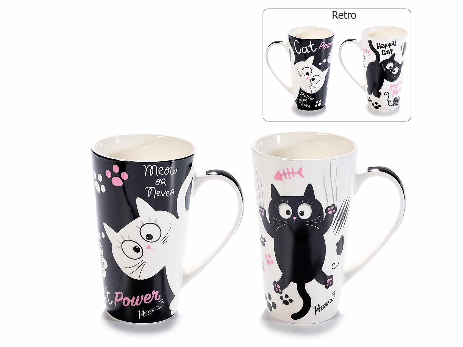 Tazze mug in porcellana con design Pet Friends  (720671)