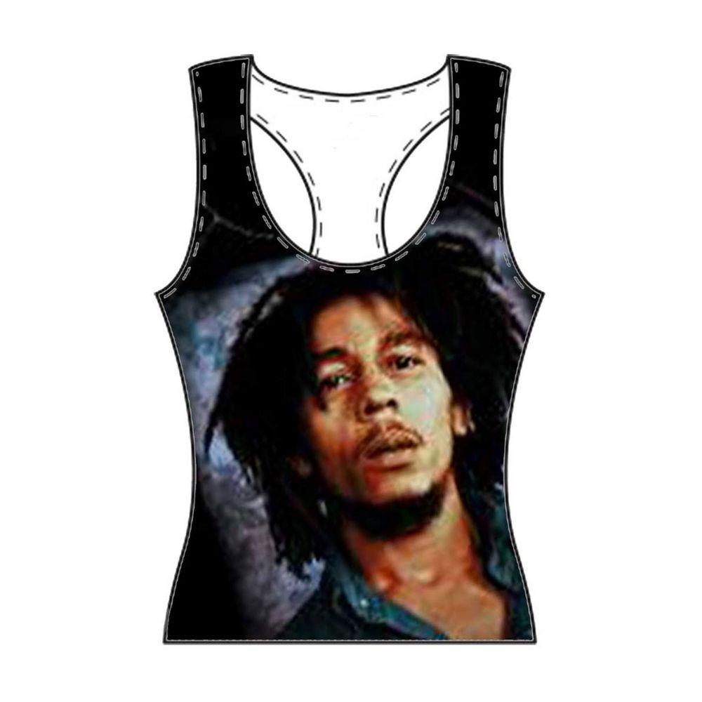 T-shirt canotta BOB MARLEY taglia L donna