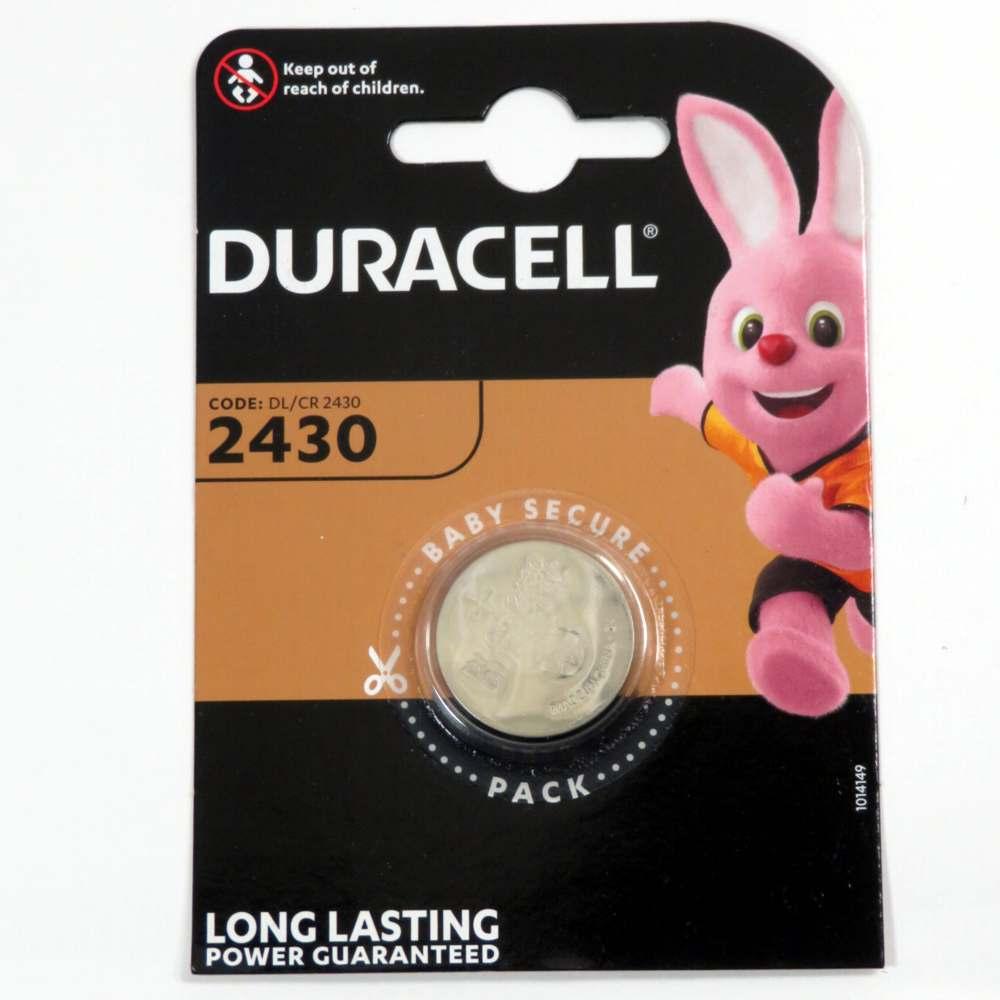 Pila a pastiglia 3v 2430 Duracell
