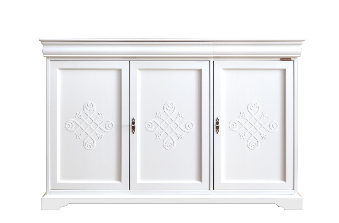 Aparador 3 puertas laqueado estilo Luis Felipe 'YOU'