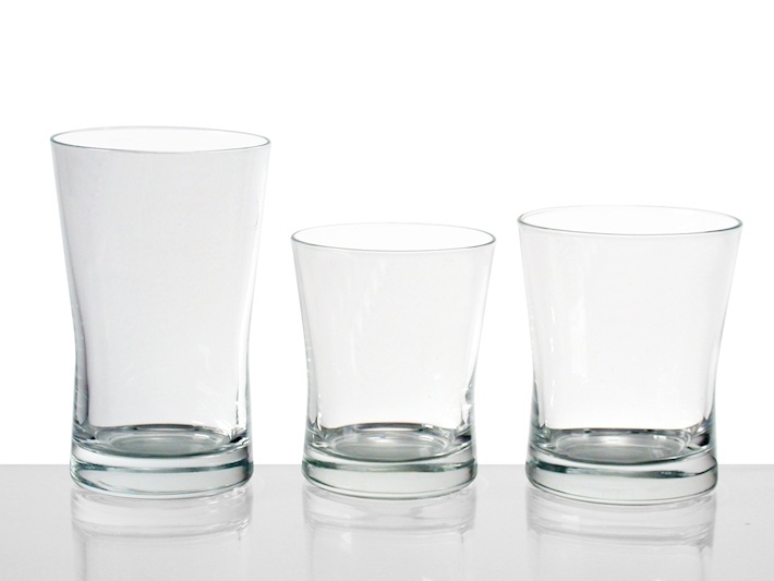 Bicchiere in vetro Aura acqua 25cl