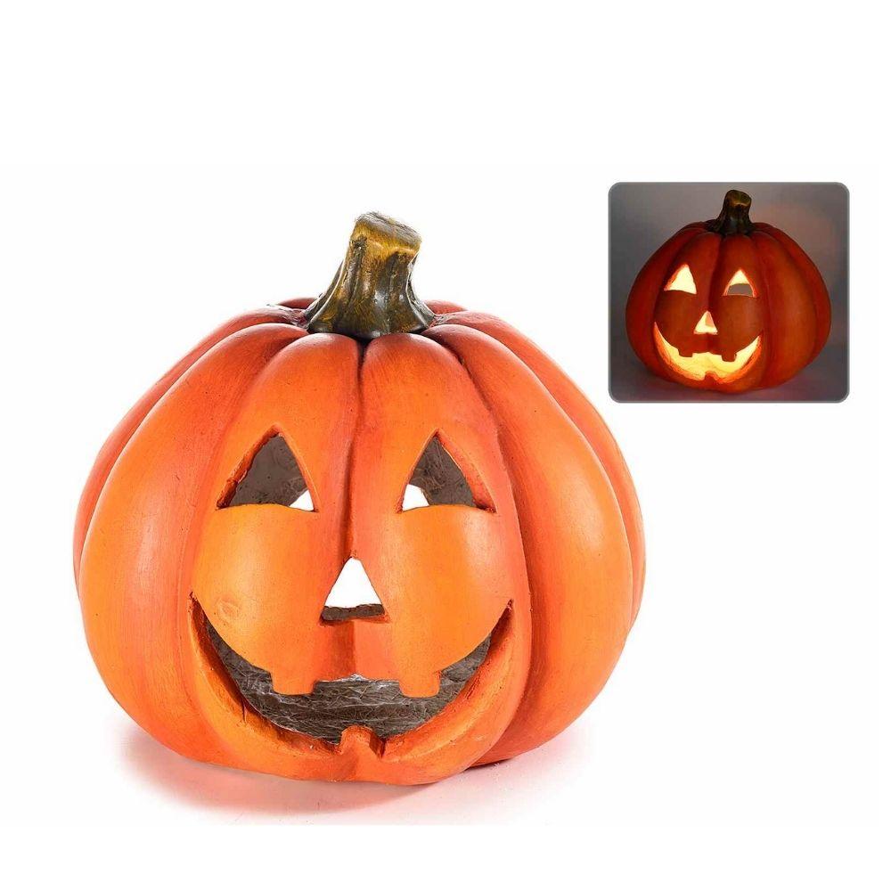 Zucca gigante porta candela Halloween