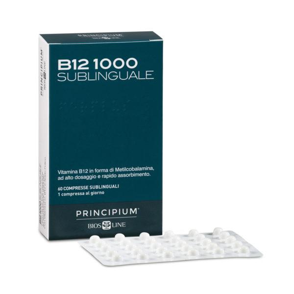 Bios line Principium B12-1000 Sublinguale-integratore ad alto dosaggio