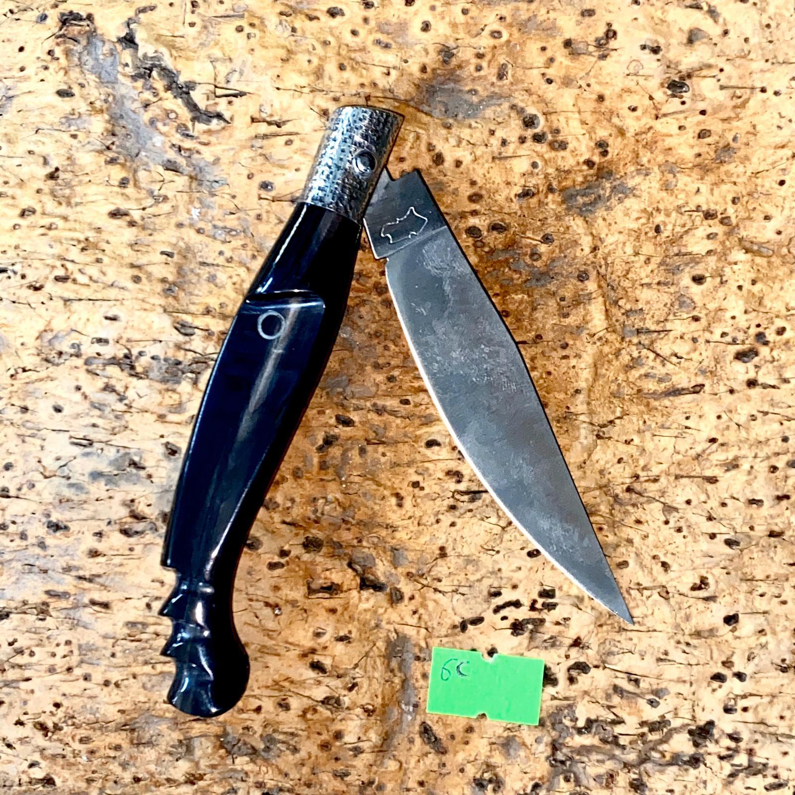 Coltello SARDO con manico  MAMUTHONES. cm,20 unico pezzo.
