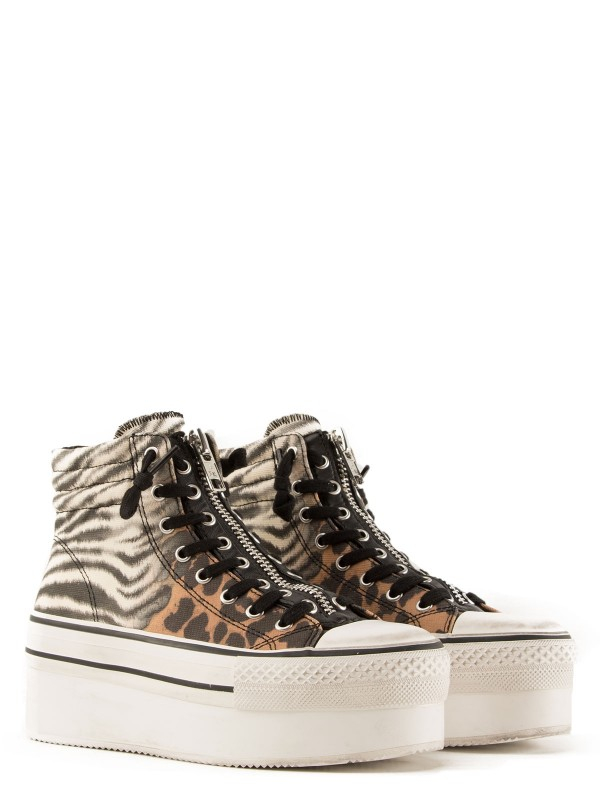 Sneakers Jagger Degrade Zebrato ASH