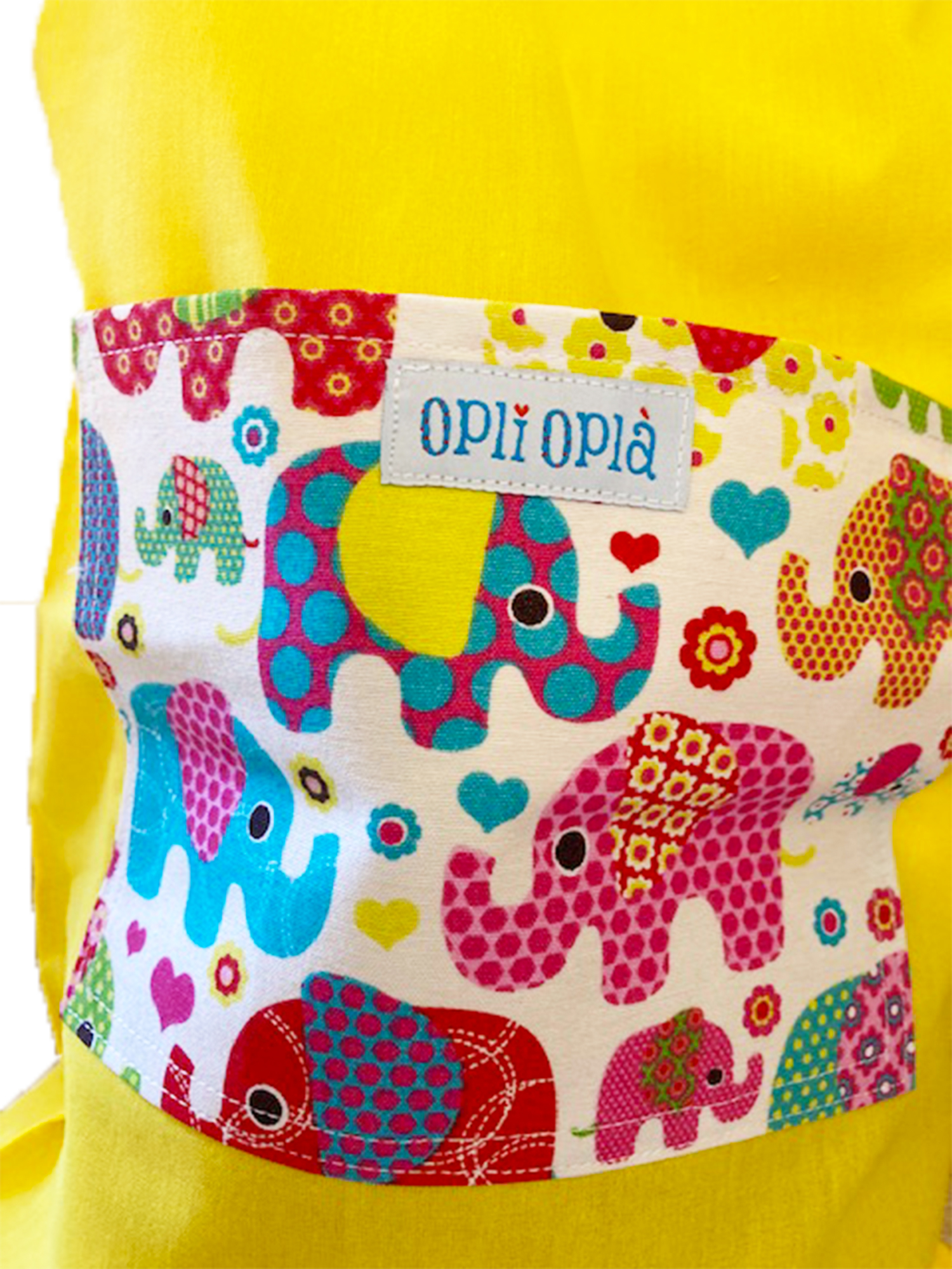 Elefanti gialli - sacca asilo