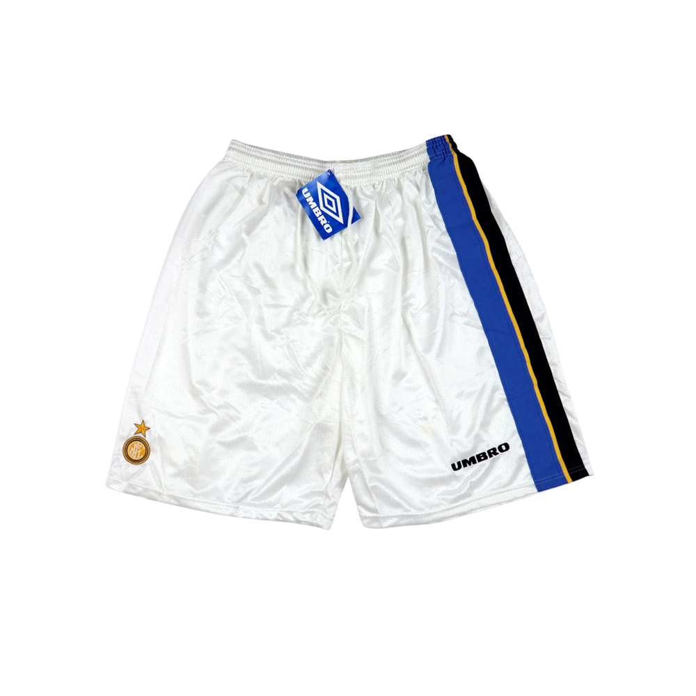 1997-98 Inter Pantaloncini Away Shorts 38