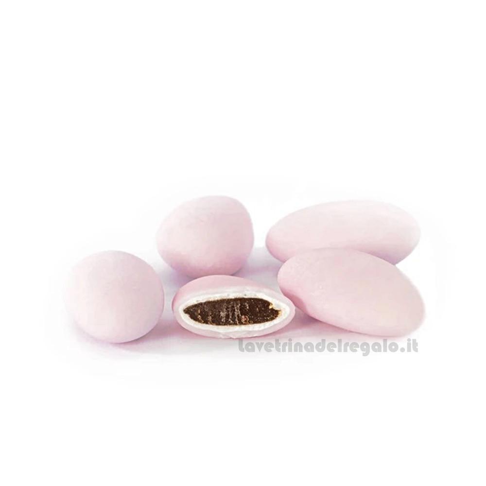 Confetti rosa Fondente Extra al cioccolato 500gr/1Kg William Di Carlo Sulmona - Italy