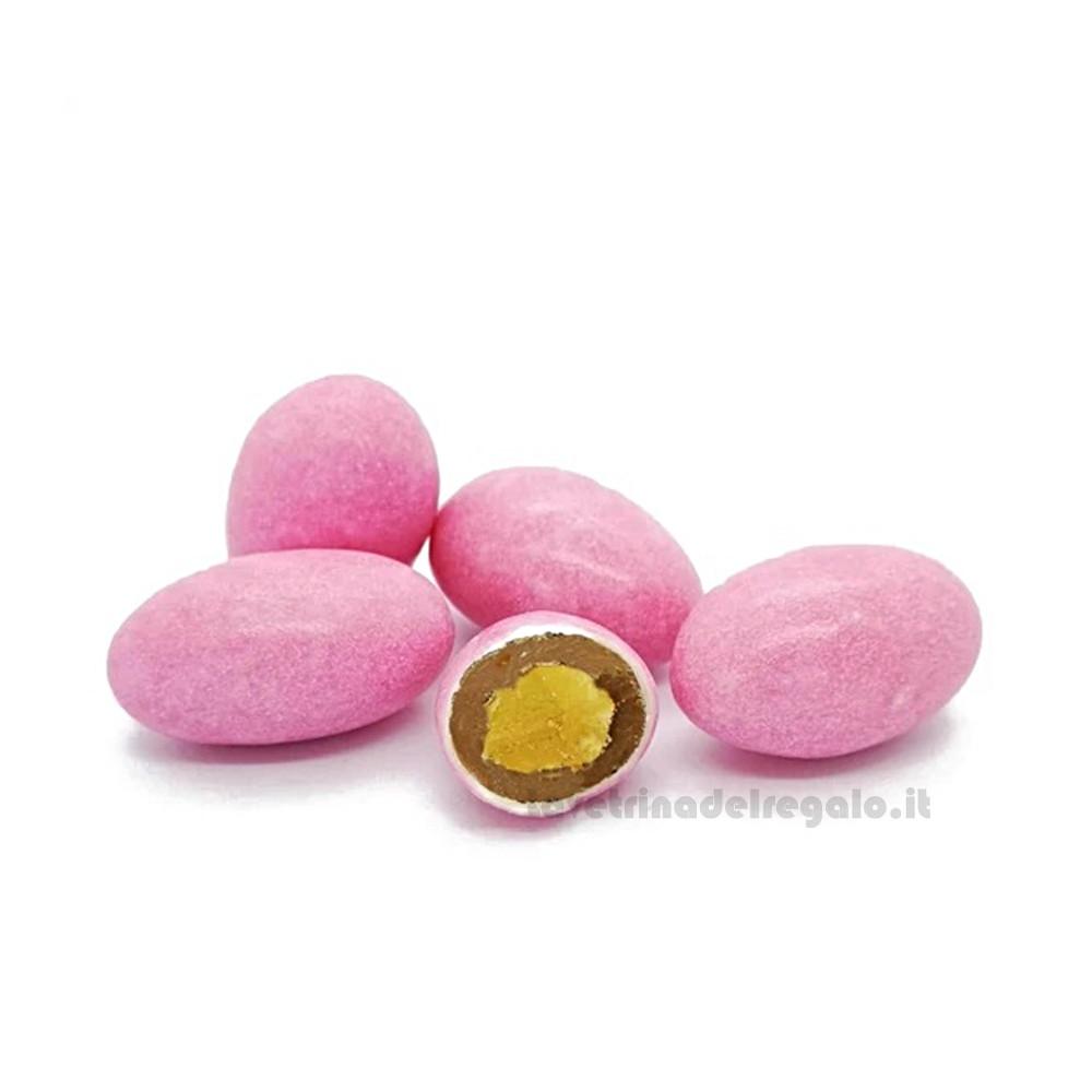 Confetti rosa Golosotti al cioccolato al latte 500gr/1Kg William Di Carlo Sulmona - Italy
