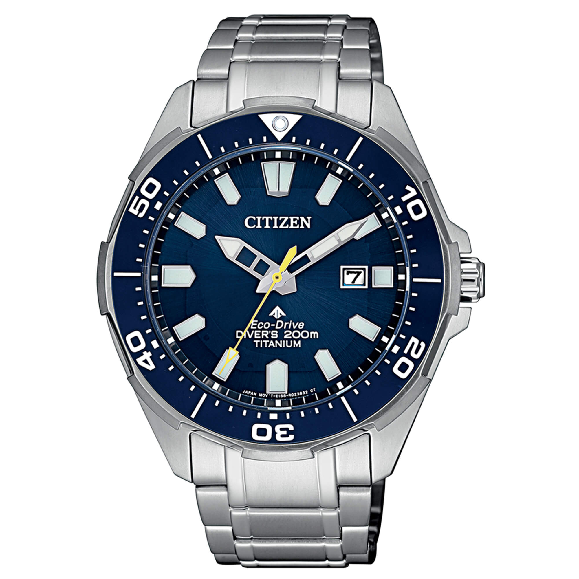 Citizen Diver's Eco Drive 200 mt Super Titanio