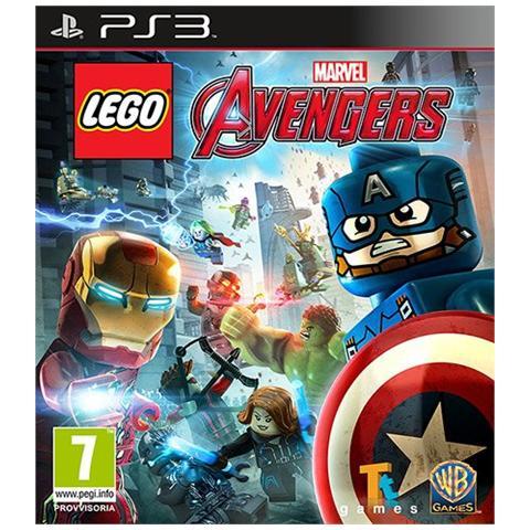 Ps3: Lego Avengers