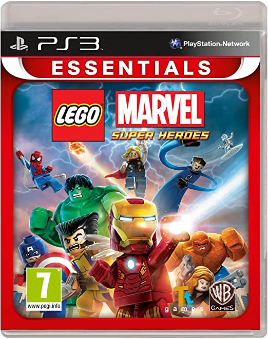 Ps3: Essentials Lego Marvel Super Heroes