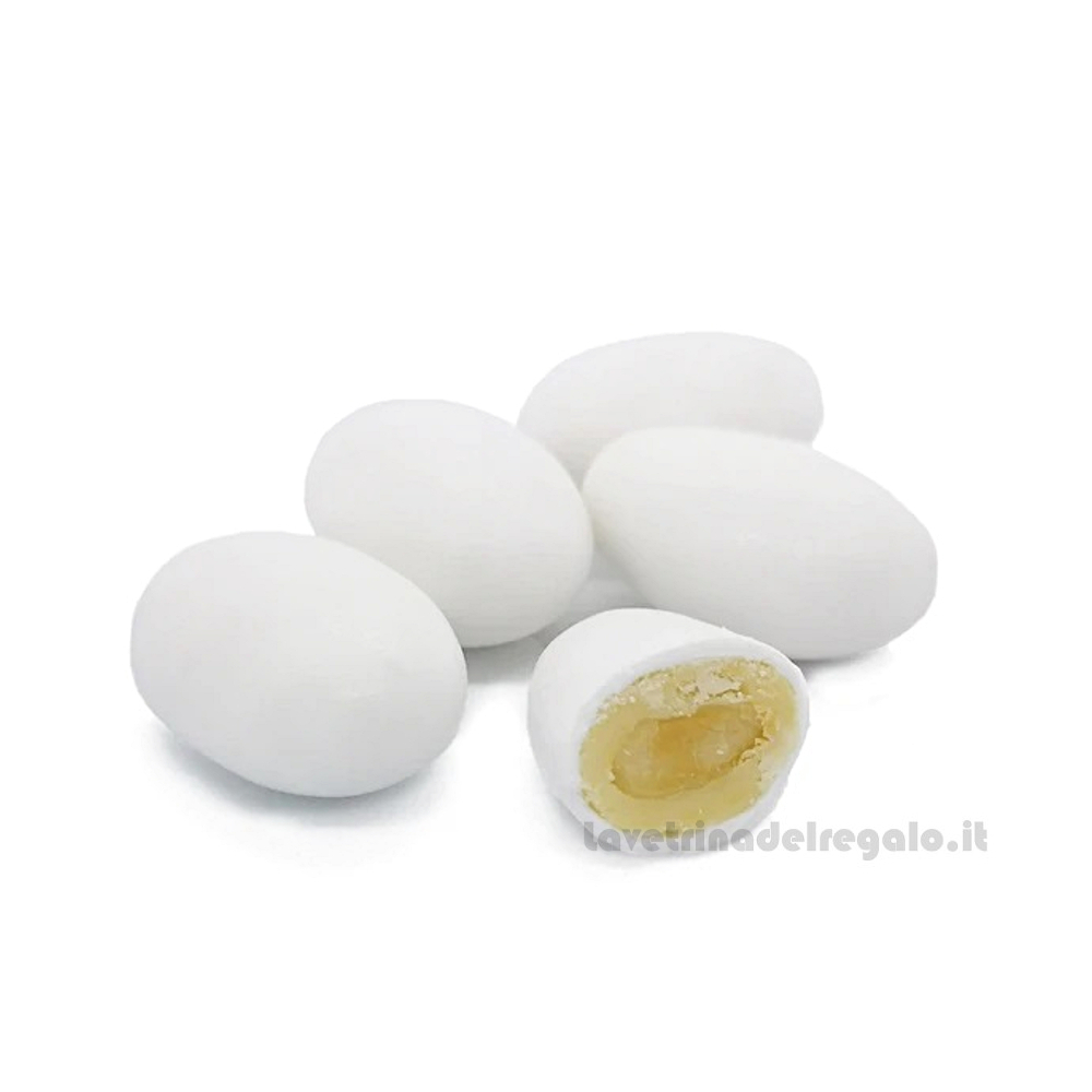 Confetti bianchi Golosotti gusto frutta 500gr/1Kg William Di Carlo Sulmona - Italy