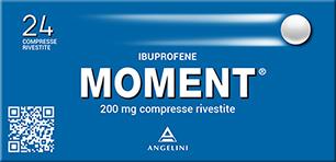 Moment 200 mg - analgesico antinfiammatorio 24 compresse rivestite