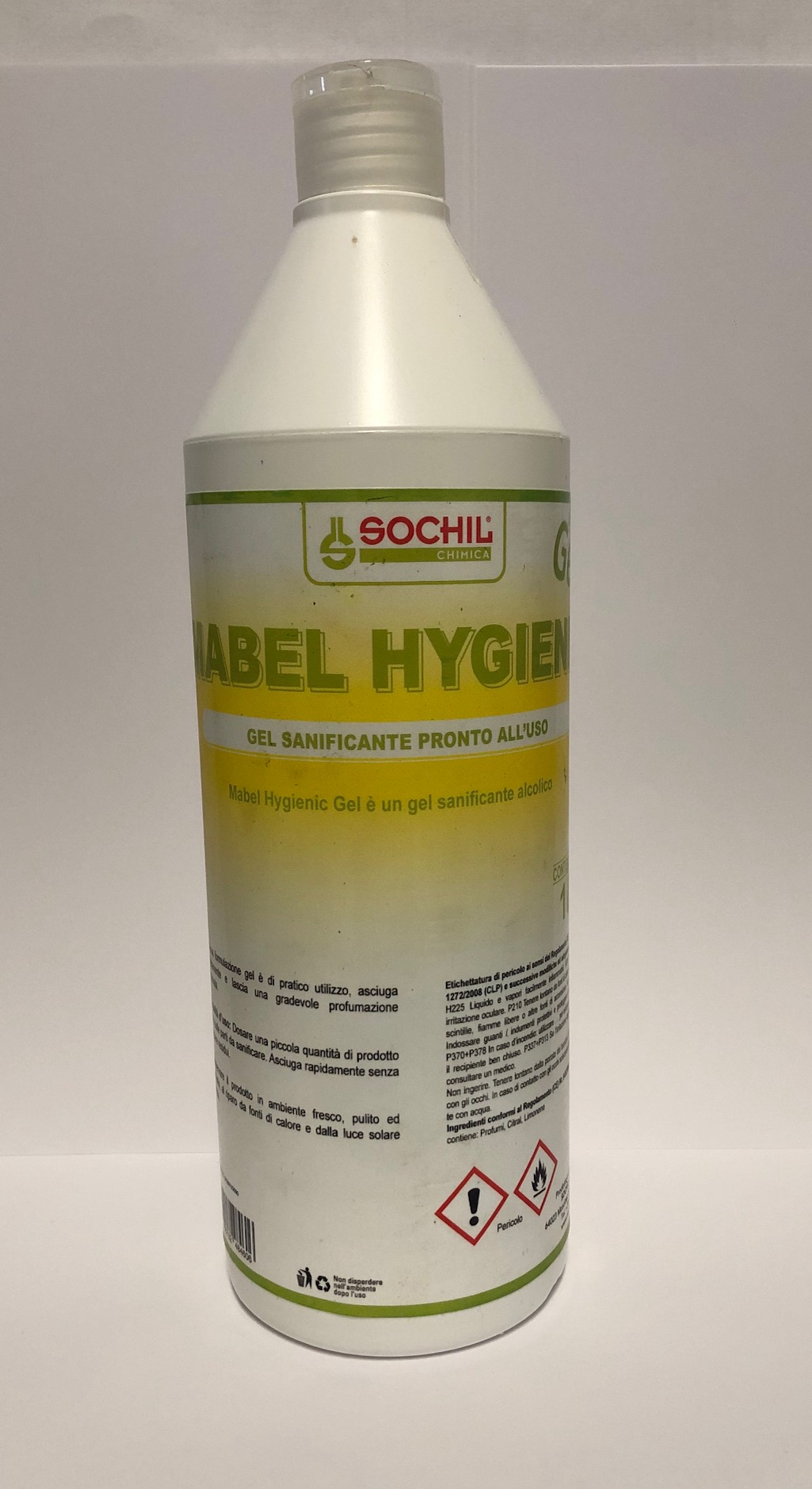 MABEL HYGIENIC - GEL SANIFICANTE PRONTO ALL'USO