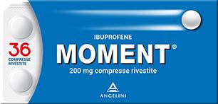 Moment 36 compresse Rivestite Ibuprofene-200Mg