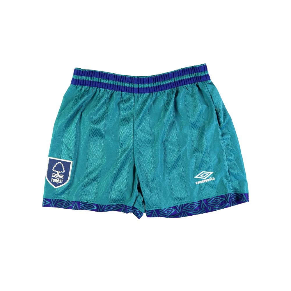 1993-95 Nottingham Forest Pantaloncini Away *Nuovi