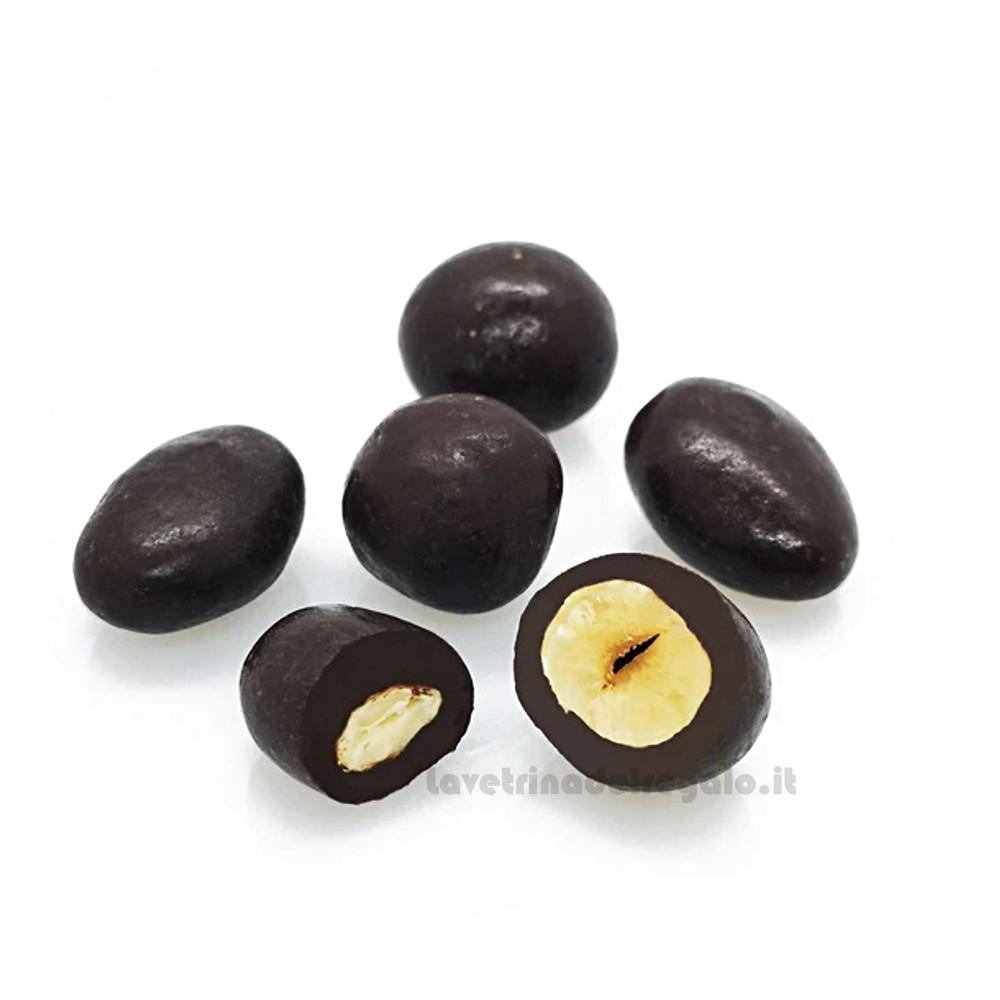 Confetti Divine Follie con mandorle, nocciola e cioccolato fondente 1Kg William Di Carlo Sulmona - Italy
