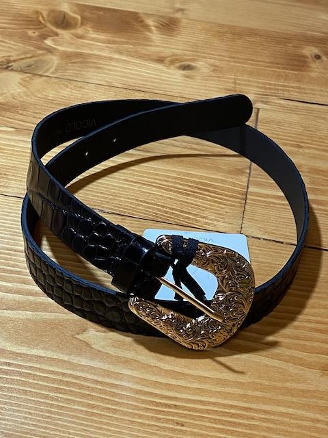 Cintura Cocco con fibbia dorata Vicolo