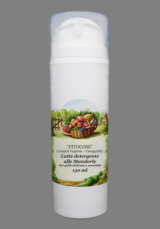 Latte detergente alle mandorle | Prodotti naturali pulizia viso