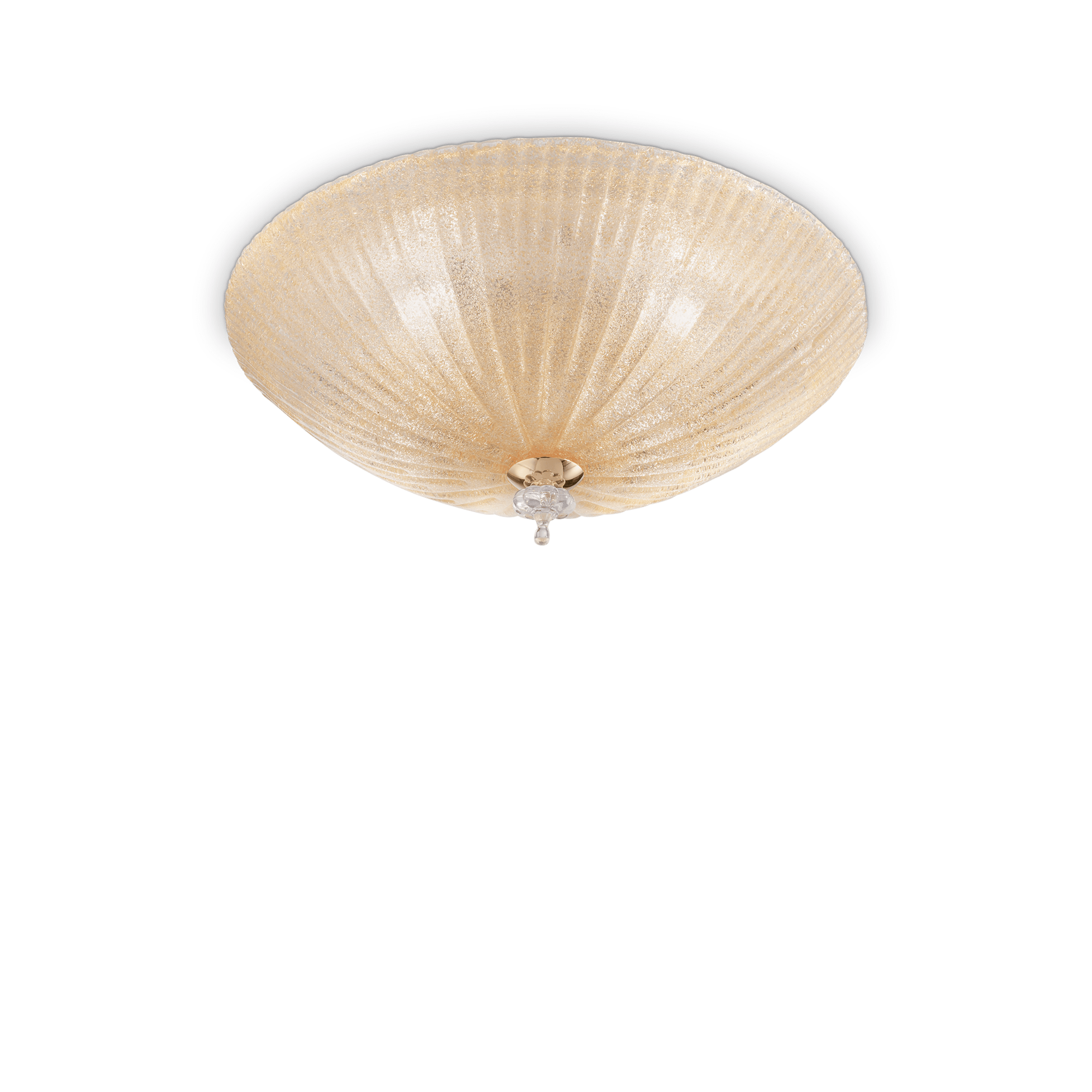 IDEAL LUX PLAFONIERA SHELL PL3 AMBRA