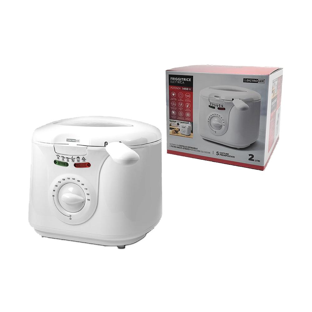 Friggitrice Elettrica 2 Litri 1450W
