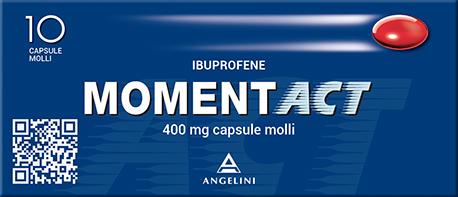 Momentact 400 mg - 10 Capsule Molli