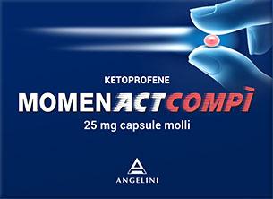 Momenact Compì 400 mg - 10 Capsule Molli
