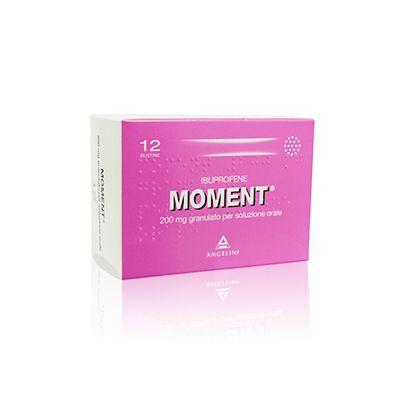 MOMENT® 200 mg Granulato per Soluzione Orale 12 Bustine  Ibuprofene